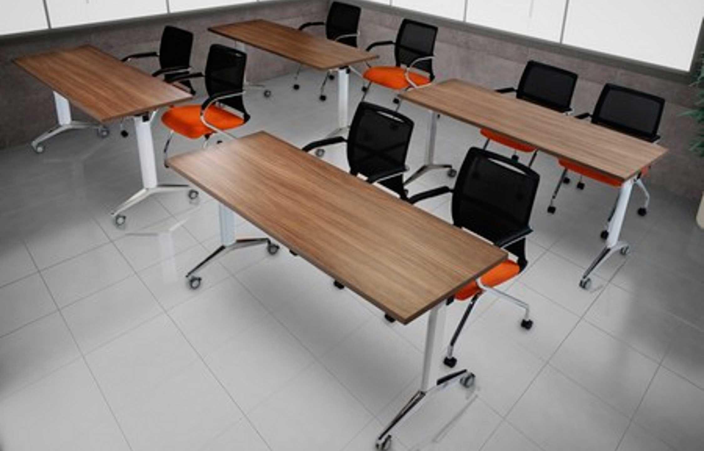 mesas de capacitación